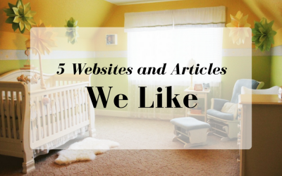 5 Websites and Articles We Like